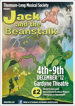 Jack and the Beanstalk programme cover